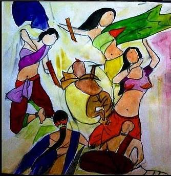 Holi celeberation by Sonali Singh