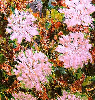Patricia Taylor - Holiday Mums with Texture