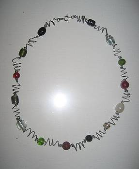 Holiday necklace by Brianna Lynn