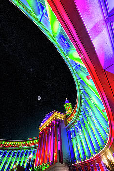 Holiday Nights at Denver Civic Center by Darren White