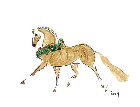 Holiday Palomino by Liz Pizzo