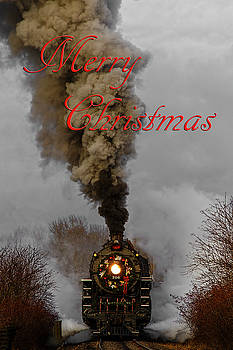 Holiday Train Merry Christmas by Wes and Dotty Weber