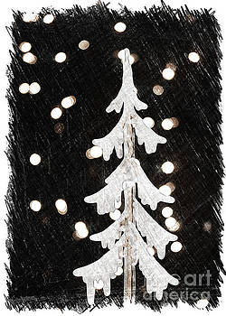 Holiday Tree Collection Black  by Linda Joyce