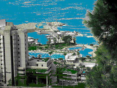 Holidays  Beach Resort-Lebanon by Therese AbouNader