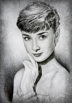 Hollywood greats Audrey Hepburn by Andrew Read