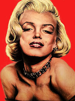 Hollywood legend Marilyn by Andrew Read