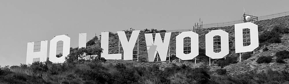 Hollywood Sign by Maj Seda
