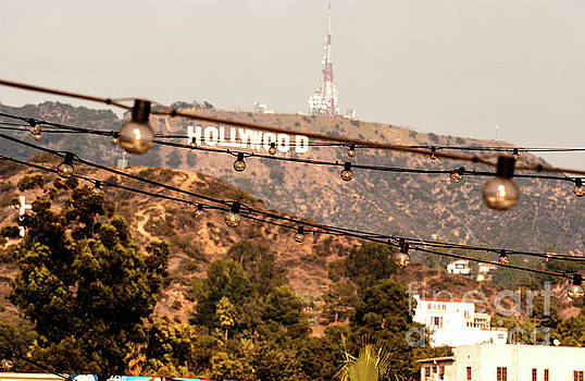 Hollywood sign on the hill 3 by Micah May