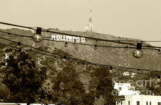 Hollywood sign on the hill 4 by Micah May