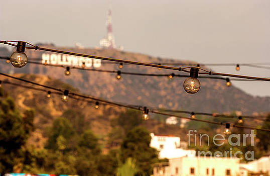 Hollywood sign on the hill 5 by Micah May