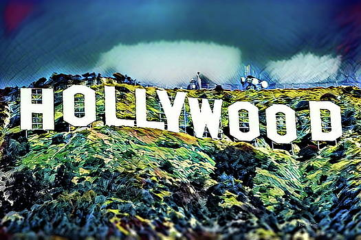 Hollywood Sign by Russ Harris