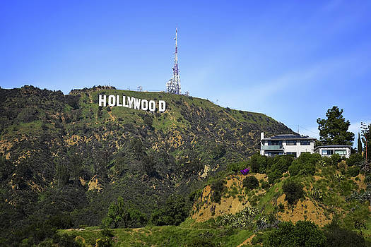 Hollywood Sign by Steven Michael