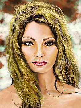 Hollywood star Sophia Loren by Ivelin Vlaykov