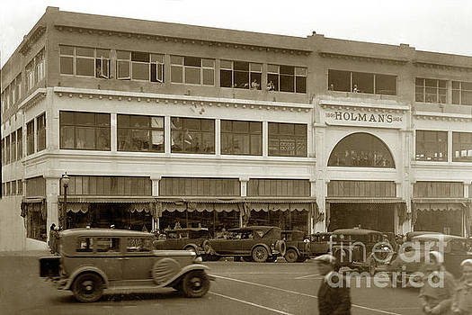 California Views Mr Pat Hathaway Archives - Holman Department Store, Lighthouse Avenue Circa 1930