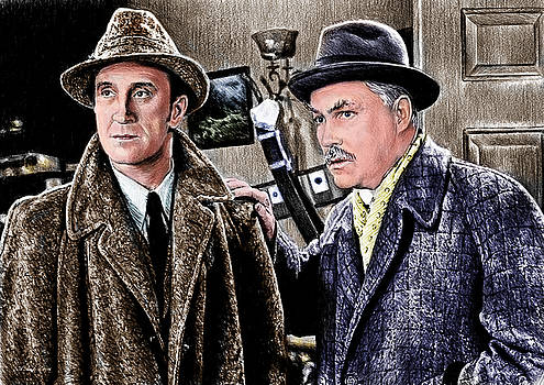 Holmes and Watson colour 2 by Andrew Read