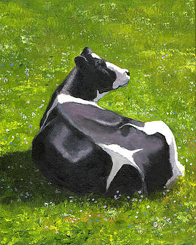 Joyce Geleynse - Holstein Cow in Pasture