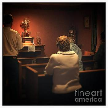 Frank J Casella - Holy Adoration Altar
