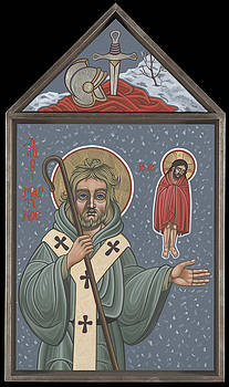 Holy Bishop St Martin of Tours 210 by William Hart McNichols