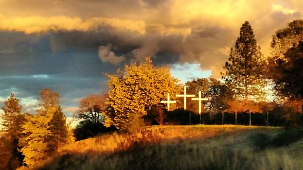 Holy Crosses on the Hillside by Peggy Leyva Conley