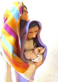 Holy Family by Kathleen Luther