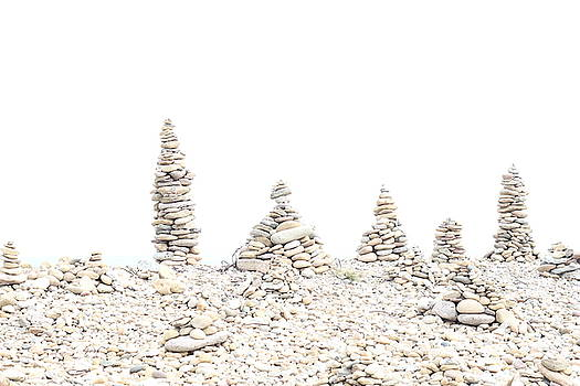 Holy Island Pebbles 2 by Emma Manners