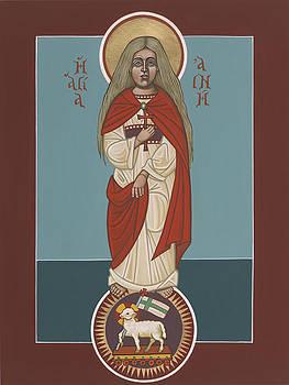 William Hart McNichols - Holy Martyr St Agnes Lamb of God 243