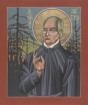 Holy Missionary Peter De Smet 207 by William Hart McNichols