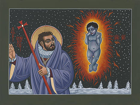 Holy Poet-Martyr St Robert Southwell and the Burning Babe 199 by William Hart McNichols