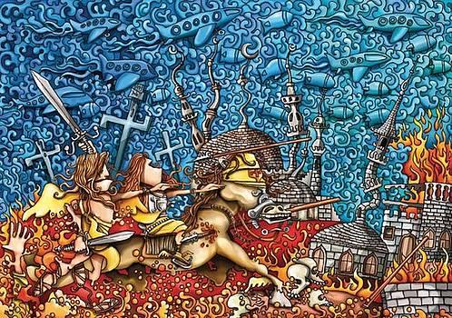 Holy Sepulcher by Juan  Amadeo
