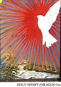 Holy Spirit by Maria Carosi