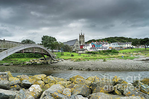 Holy Trinity Church Aberaeron Wales by Ann Garrett