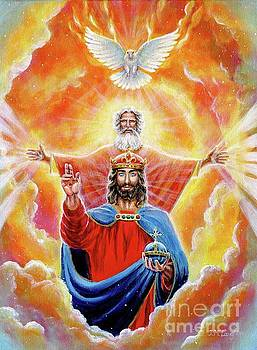 Holy Trinity in Glory by Jenny McLaughlin