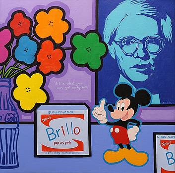 Homage to Andy Warhol by John  Nolan