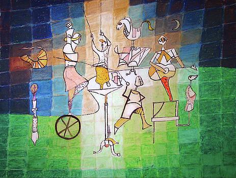 Homage to Paul Klee by Ryan Babcock