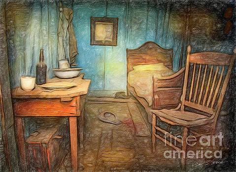 Homage to Van Gogh's Room by Craig J Satterlee