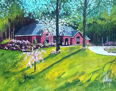 Home in Batesville, MS by Jim Phillips