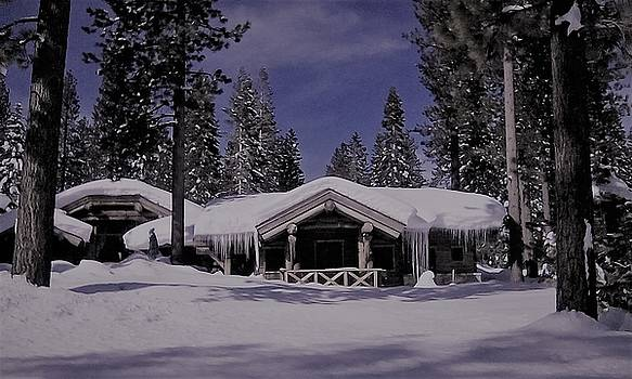 Home in the winter by Tom Hufford