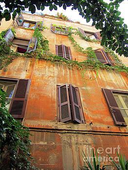 Home in Trastevere by Katrina Perekrestenko