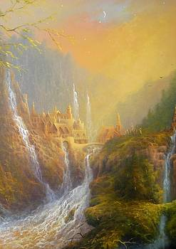Rivendell Home Of Elves  by Joe Gilronan
