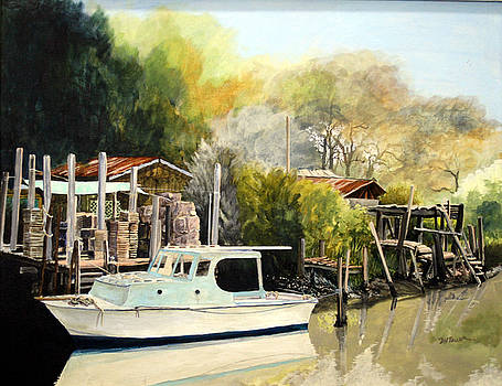 Home on the Canal by Douglas Teller