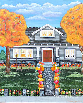Home Sweet Home - Comes Autumn by Melissa Toppenberg