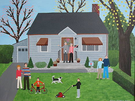Home Sweet Home by Susan Houghton Debus