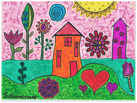 Home Sweet Home by Susan Schanerman