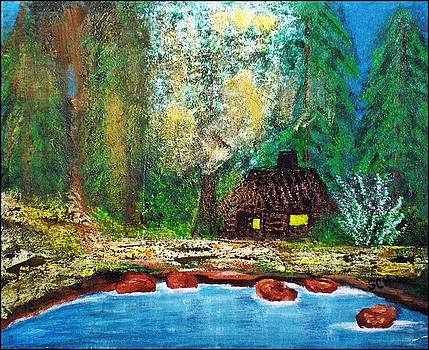 Home Sweet Impressionist Home by Scott Haley