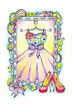 Homecoming Dress by Adrienne Allen
