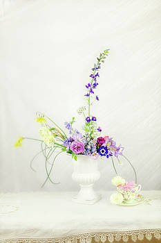 Homegrown Floral Bouquet by Susan Gary