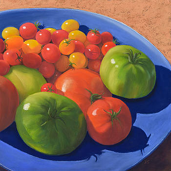 Homegrown Tomatoes by Xenia Sease