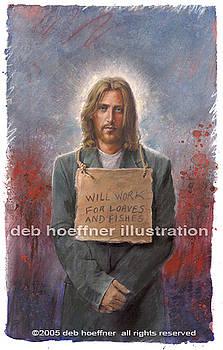 Homeless Christ by Deb Hoeffner