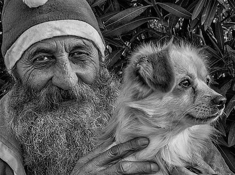 Homeless Santa by Tomi Beskovnik