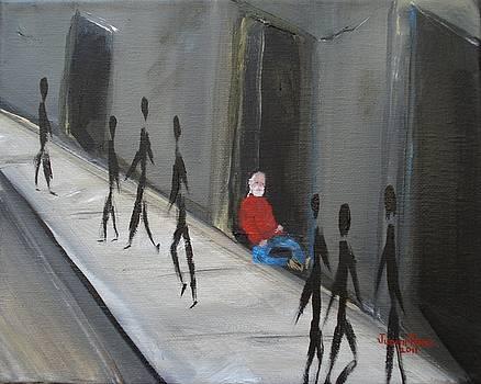 Homeless Vet by Judith Rhue